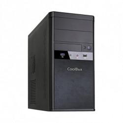 CoolBox Micro ATX M55 Tower Schwarz 500 W COO-PCM55-E85