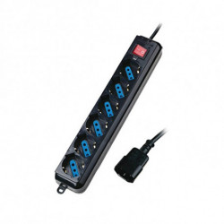 Eminent EM3925 power extension 1.5 m 6 AC outlet(s) Black