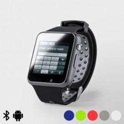 Montre intelligente 1,54 LCD Bluetooth 145970 Rouge