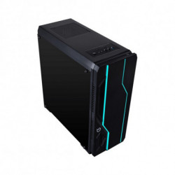 Hiditec V10 RGB Torre Negro CHA010019