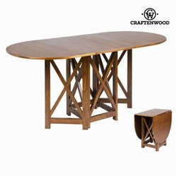 Table à rabats couleur noyer - Collection Serious Line by Craftenwood