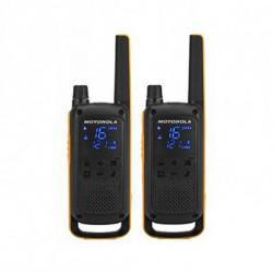 Motorola Talkie-walkie T82 Extreme (2 Pcs) Noir Jaune