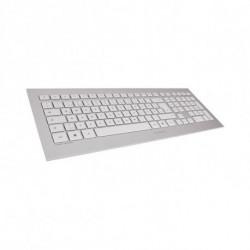 CHERRY DW 8000 clavier RF sans fil QWERTY Espagnole Argent, Blanc JD-0310ES