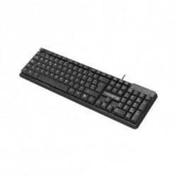 Tacens ACP0ES tastiera USB QWERTY Spagnolo Nero