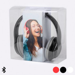Bluetooth Kopfhörer mit Mikrofon 32 GB USB 145531 Rot