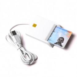 Lecteur de Cartes à Puce 143566 Blanc