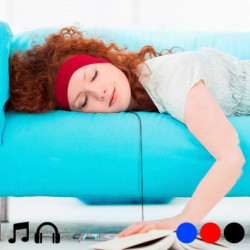 Bandeau avec Écouteurs Intégrés 145142 Noir