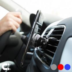 Suporte de Telemóveis Magnético para Automóvel 145954 Prateado