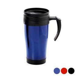 Tasse avec Couvercle (450 ml) 143786 Noir
