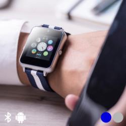 Montre intelligente 1,54 LCD Bluetooth 146053 Gris