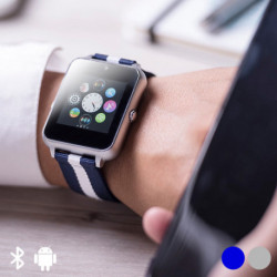 Smartwatch 1,54 LCD Bluetooth 146053 Grau