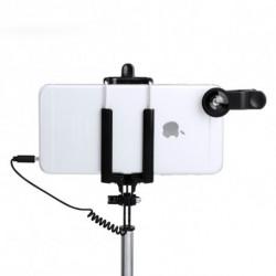 Set of Selfie Stick with Lenses (5 pcs) 144940 Black