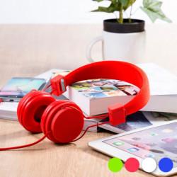 Headphones with Headband (3.5 mm) 145146 Red