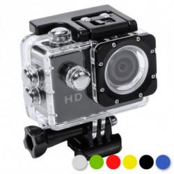 Caméra de sport 2 LCD Full HD 145246 Jaune