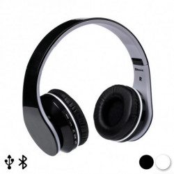 Casque Écouteurs Pliables avec Bluetooth 144938 Blanc