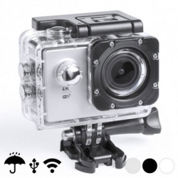 Caméra de sport 4K 2 360º WiFi (16 pcs) 145528 Noir