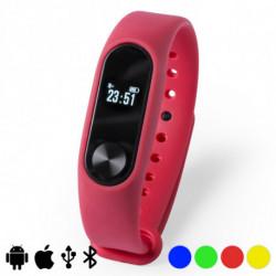 Bracelet d'activités 0,42 LCD Bluetooth 145599 Rouge