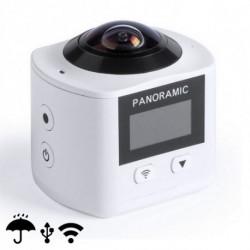 Caméra 360° Full HD LCD WIFI 145529 Blanc