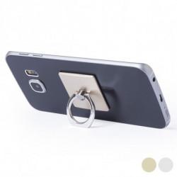 Support Adhésif pour Téléphone Portable à Double Fonction 145551 Or