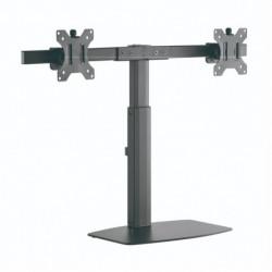 TooQ DB1727TN-B Flachbildschirm-Tischhalterung 68,6 cm (27 Zoll) Freistehend Schwarz