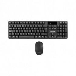 Tacens ACPW0ES Tastatur RF Wireless QWERTY Spanisch Schwarz