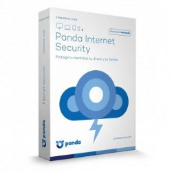 Panda Internet Security 2017 Base license 5 license(s) 1 year(s) Spanish A1ISMB5