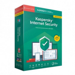 Kaspersky Lab Internet Security 2019 Licence complète 3 licence(s) 1 année(s) Espagnol KL1939S5CFR-9