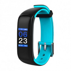 Brigmton BSPORT-15 Wristband activity tracker Black,Blue IP67 OLED 2.44 cm (0.96) BSPORT-15-A