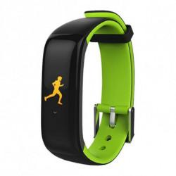 Brigmton BSPORT-15 Wristband activity tracker Black,Green IP67 OLED 2.44 cm (0.96) BSPORT-15-V