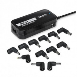 TooQ TQLC-90BS02AT mobile device charger Indoor Black