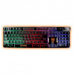iggual Gaming Keyboard IGG315781 LED RGB Black