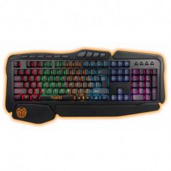 iggual Teclado Gaming IGG315774 LED RGB Preto