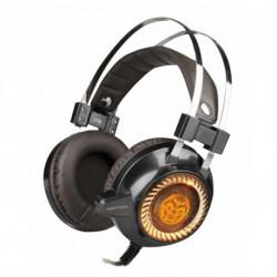 iggual Gaming Headset mit Mikrofon KAIMATACHI Braun Orange