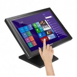iggual IGG315750 Touchscreen-Monitor 38,1 cm (15 Zoll) 1024 x 768 Pixel Schwarz