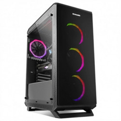 NOX ATX Semi-tower Box NXHUMMERTGF USB 3.0