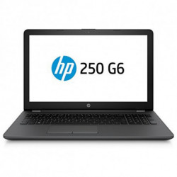 HP 250 G6 Black Notebook 39.6 cm (15.6) 1366 x 768 pixels 7th gen Intel® Core™ i3 i3-7020U 8 GB DDR4-SDRAM 256 GB SSD 3VK27EA