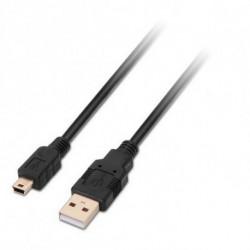 NANOCABLE USB 2.0 A to Mini USB B Cable 10.01.0402 1,8 m Black