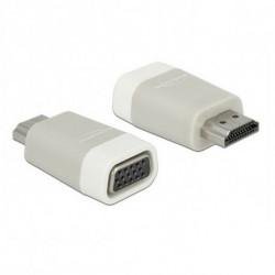 DELOCK Adaptateur HDMI vers VGA 65472 Blanc