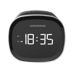 Grundig Radio-réveil SCN 230 LED AM/FM 1,5 W Noir