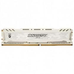 Crucial Mémoire RAM Ballistix Sport DDR4 2400 MHz 16 GB Blanc