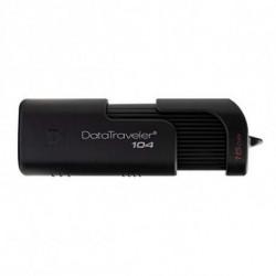 Kingston Technology DataTraveler 104 USB flash drive 16 GB USB Type-A 2.0 Black DT104/16GB