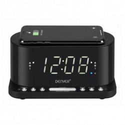Denver Electronics CRQ-110 Radio portable Horloge Numérique Noir 111131300010