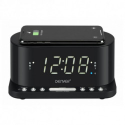 Denver Electronics CRQ-110 radio Reloj Digital Negro 111131300010