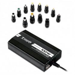 TooQ TQLC-100BS01M chargeur de téléphones portables Auto, Intérieur, Extérieur Noir
