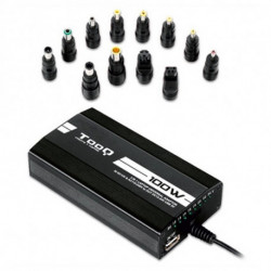 TooQ TQLC-100BS01M Ladegerät für Mobilgeräte Auto, Innenraum, Outdoor Schwarz