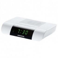 Grundig Radio-réveil SONOCLOCK KSC 35 LED FM Blanc