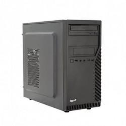 iggual PC de bureau PSIPCH402 i3-8100 8 GB RAM 120 GB SSD Noir