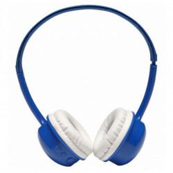 Denver Electronics BTH-150BLUE casque Supra-aural Bandeau Bleu