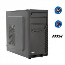 iggual PC de Sobremesa PSIPCH41 G5400 4 GB RAM 1 TB HDD Negro Sin Sistema Operativo