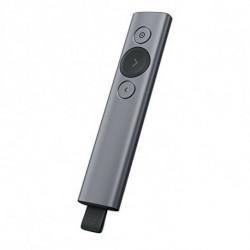 Logitech Spotlight comando para apresentações Bluetooth/RF Cinzento 910-005166